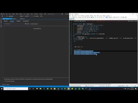 Entity Framework Core Database First Getting Started Basic Crud Operations Easy