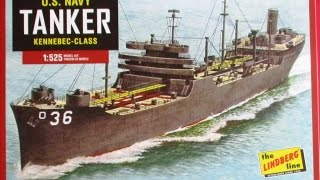 How to Build the US Navy Tanker Kennebec Class Fleet Oiler Lindberg 1:525 Scale Model Kit HL438