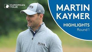 Martin Kaymer Highlights | Round 1 | 2018 BMW International Open