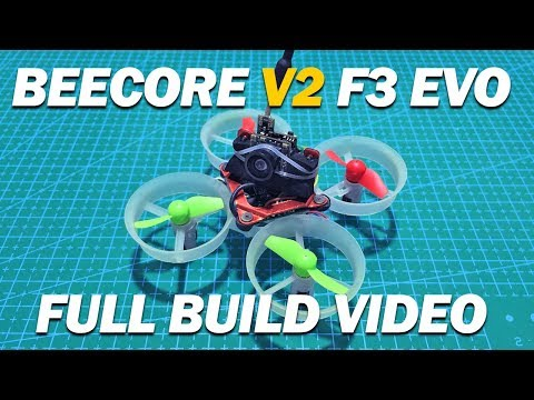 Beecore V2 F3 Evo Tiny Whoop - Full Build!
