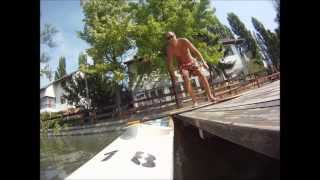 preview picture of video 'Time lapse video: Canoe in Hungary, Szarvas'