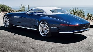 Take a First look at the new Maybach 6 Cabriolet created by Mercedes Benz & it's one of a ki