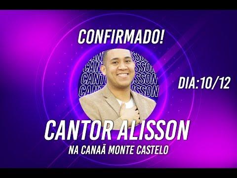 CONFIRMADO! ALISSON SANTOS DIA 10/12