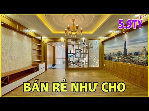 Bán nhà Gò Vấp | 460] Nhà bán gấp giảm giá 1tỷ chỉ còn 5.9 tỷ 3.5 lầu thiết kế rất đẹp tại Gò Vấp