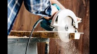 How to cut a miter angle using a circular saw
