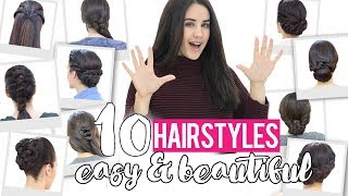 The best 10 easy hairstyles for special occasion