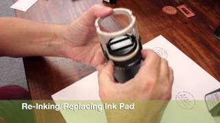 TUTORIAL : IDEAL ROUND SELF-INKING STAMP