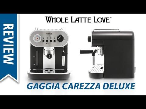 , Gaggia RI8525/01 Carezza De Luxe Espresso Machine, Silver