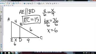 Big Ideas Geometry 8 4 Proportionality Theorems