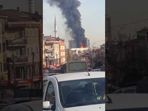 Τεράστια φωτιά σε νοσοκομείο στην Κωνσταντινούπολη (βίντεο)