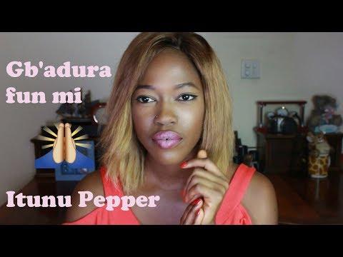 ITUNU PEPPER - Gbadura fun mi  | Beyonce - 'Broken Hearted Girl' (NAIJA REMAKE)