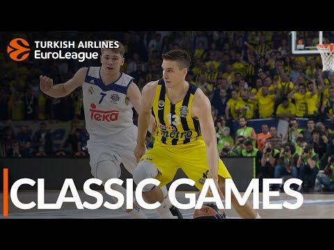 CLASSIC GAMES: Fenerbahce vs. Real Madrid, semifinals 2017