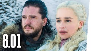 GAME OF THRONES: Winterfell / Analyse & Besprechung / Staffel 8 Episode 1