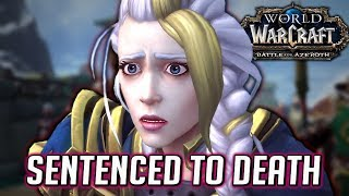Katherine (Jaina's Mother) Sentences Jaina to Death, Genn Arrives at Kul'Tiras - WOW BFA