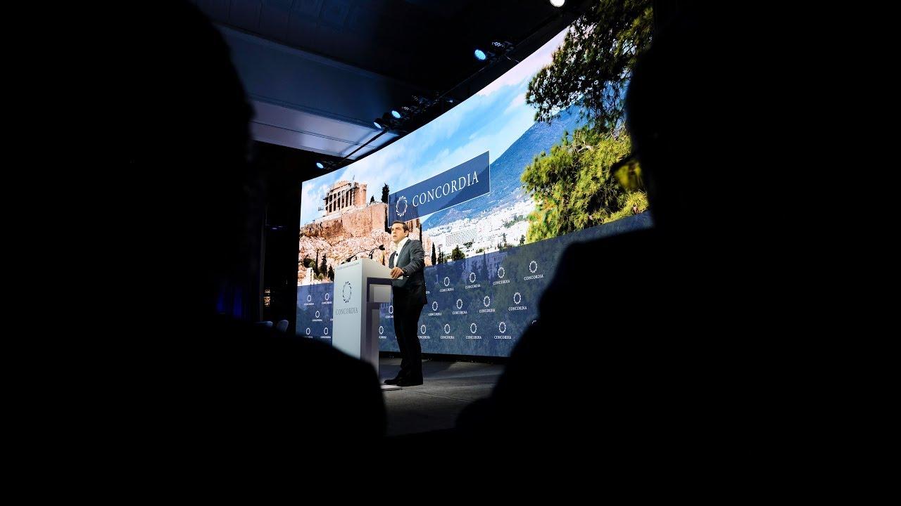 Ομιλία στο Συνέδριο Concordia
