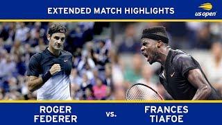 Roger Federer vs Frances Tiafoe | US Open 2017 Round 1
