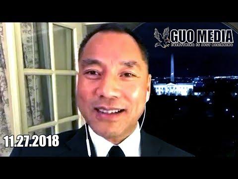 文字版: 2018年11月27日文贵在华盛顿报平安直播视频!