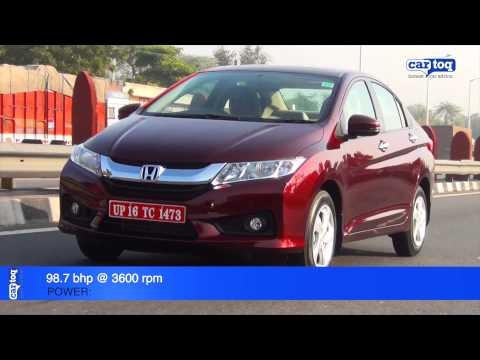 2014 Honda City diesel video review by CarToq.com