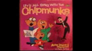 "Chipmunks sing ""Santa Claus Is Comin' To Town"""