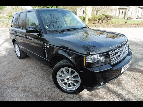 2012 (12) LAND ROVER RANGE ROVER 4.4 TDV8 VOGUE 5DR Automatic