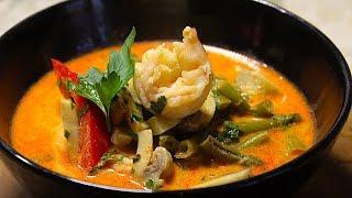 Вкуснейший Тайский Суп Том Ям. Рецепт! БосяТская Кухня. Очень Вкусно!)
