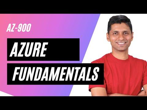 Azure Certification - AZ 900 - Azure Fundamentals - YouTube