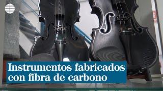 Así son los instrumentos fabricados con fibra de carbono| EL MUNDO