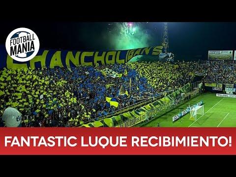 """""""Fantastic Luque! Chancholigan's Recibimiento Sportivo Luqueño vs. Santa Fe"""" Barra: Chancholigans • Club: Sportivo Luqueño"""