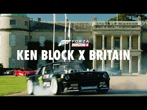 Ken Block Tears Up Goodwood With Forza Horizon 4 By Goodwood Road