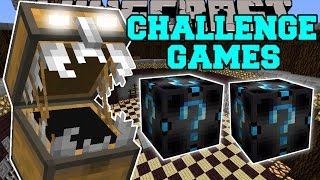 Minecraft: EVIL CHEST CHALLENGE GAMES - Lucky Block Mod - Modded Mini-Game