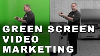 How to Market Your Business With Green Screen Video's