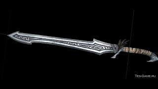 [SKYRIM MOD #25] - Новый нордский ЛОРный меч - мод на оружие (Full HD)