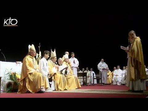 Ordination de Mgr Sylvain Bataille, évêque de Saint Etienne