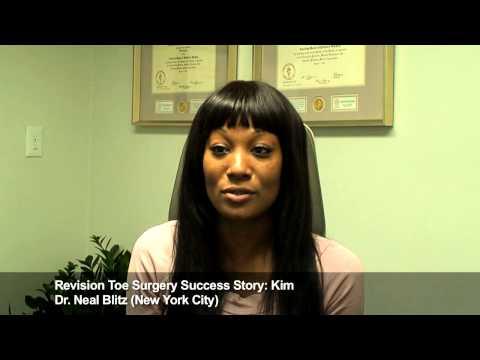 Kimberly: Revision Toe Surgery