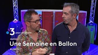 Olivier PEDEMAS (Sablé FC) invité d'USB Foot France 3 PDL
