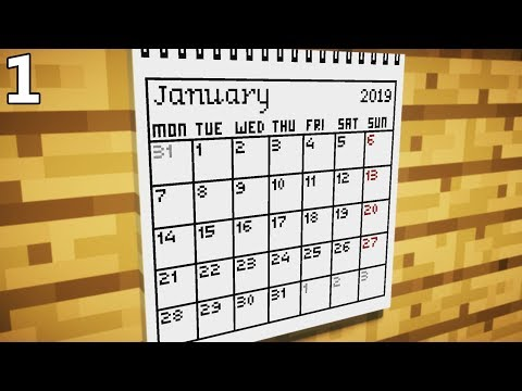 How To Make A Calendar For 2019 Part 1 Minecraft Project