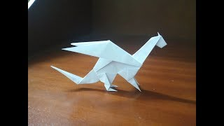 Origami Easy Dragon Paper