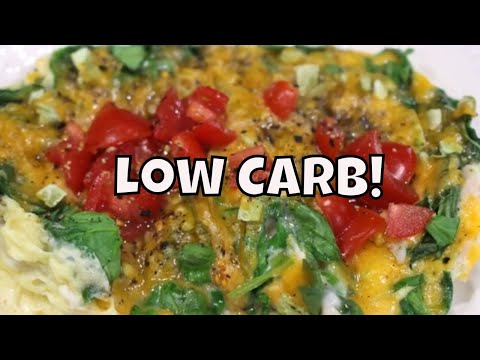 Three Minute Low Carb Omelet With Linda's Pantry