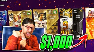 $1,000 PACK OPENING But I Have the Greatest Pack Luck You'll Ever See!! (No Seriously!)
