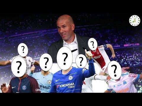 7 Pemain Yang Bisa Didatangkan Zidane Untuk Angkat Perfoma Real Madrid