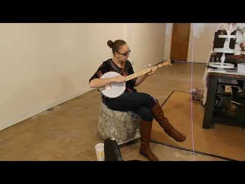 Video: Banjo Christmas music on Small Business Saturday