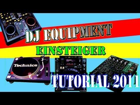 DJ ANFÄNGER EQUIPMENT TUTORIAL - SOFT- & HARDWARE - German / Deutsch - DJ CONDOR