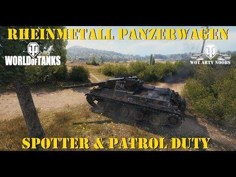 Rheinmetall Panzerwagen - 18k Assist - World Of Tanks