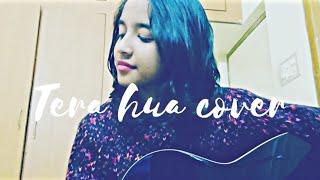 Tera Hua cover female version unplugged Guitar   Atif Aslam (Full Video link Below💖⬇️) Loveratri