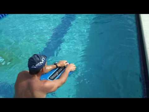 Coach Robb: Swimming: Swim Drill How to use a kickboard