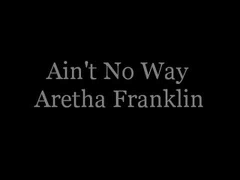 Ain't No Way  Aretha Franklin karaoke (HQ Stereo)