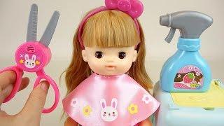 Baby Doll hair shop toys play