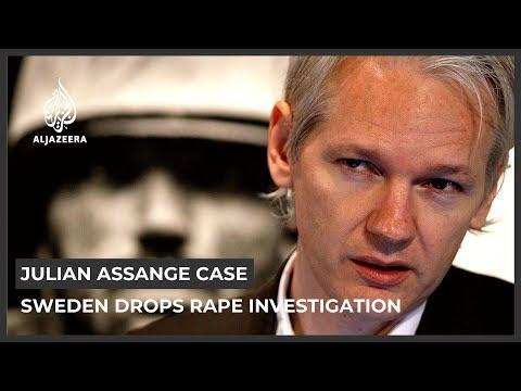 Sweden drops rape investigation against Julian Assange