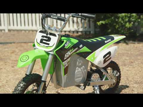 Razor SX500 Jeremy McGrath Ride Video