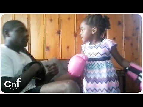 Little Girl Expert Boxer | Anti-Bully Training - YouTube
